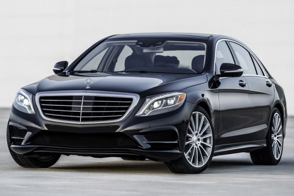 Mercedes S class 2016 (only with driver)